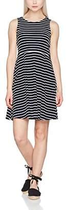 Vero Moda Women's Vmoslo Stripe S/L Short D2-3 Dress, (Size of Manufacturer: S)