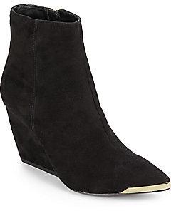 Rachel Zoe Nadia Suede Wedge Ankle Boots
