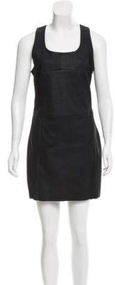 Drome Leather Sheath Dress w/ Tags