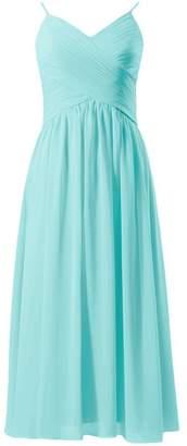 Tiffany & Co. DaisyFormals reg; V-neckline Dress Beach Wedding Bridesmaid Dress (BM8515L Blue