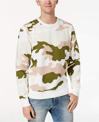 G Star Men's Camouflage-Print Sweatshirt