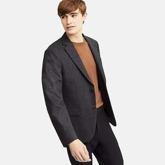 Uniqlo Men's Wool Flannel Slim-fit Jacket