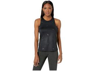 Nike Pro All Over Print Metallic Swoosh Tank