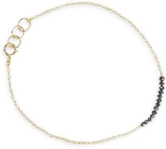 Ila & I 'Chelsea' diamond 14k gold bracelet