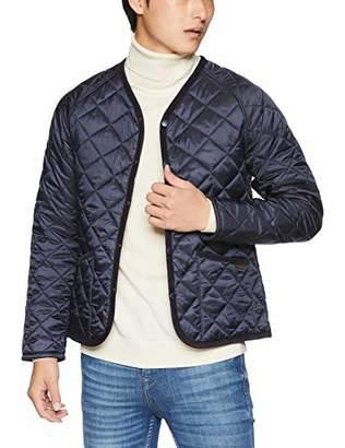 Lavenham [ラベンハム] BARHAM-LAVENLIGHT-MENS-18AW キルティングジャケット(POLYESTER,無地)メンズ 901128623017 N-NAVY UK 36 (日本サイズS相当)