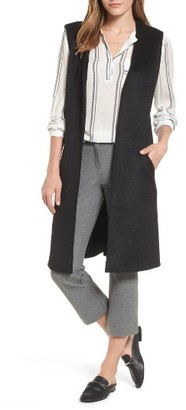Women's Halogen Long Vest $99 thestylecure.com