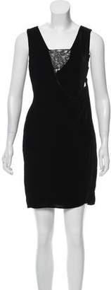 Diane von Furstenberg Casey Sleeveless Mini Dress