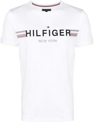 Tommy Hilfiger (トミー ヒルフィガー) - Tommy Hilfiger ロゴ Tシャツ