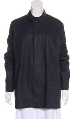 YMC Long Sleeve Button-Up Blouse