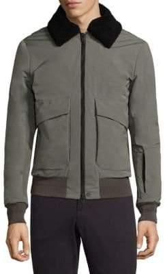 J. Lindeberg Mauer Velvet Collar Jacket