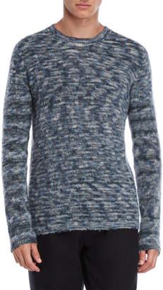 Roberto Collina Blue & Grey Knit Sweater