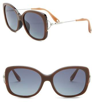 Givenchy 57mm Oversized Sunglasses