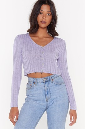 99bed6108ea Purple Cropped Cardigan - ShopStyle UK