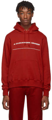 Undercover Red A Clockwork Orange Print Hoodie