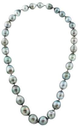Graduated Pearl Strand Necklace