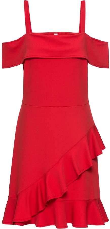 BODYFLIRT boutique Kleid mit Volants