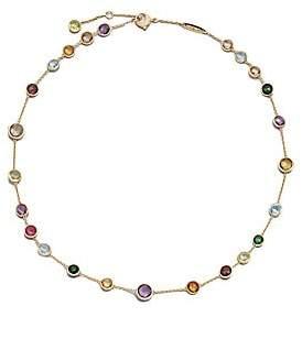 Marco Bicego Women's Jaipur Mini Semi-Precious Multi-Stone 18K Yellow Gold Station Necklace