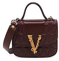 Versace Women's Virtus Trapuntata Quilted Shoulder Bag