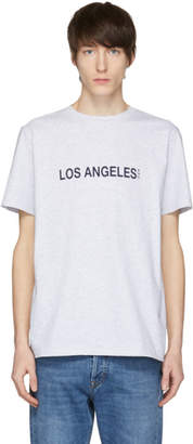 A.P.C. Grey Los Angeles T-Shirt