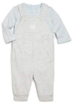 Ralph Lauren Baby's Two-Piece Bodysuit& Overall Set