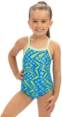 Dolfin Little Dolfin Toddler Zenon Print 1-Piece Swimsuit