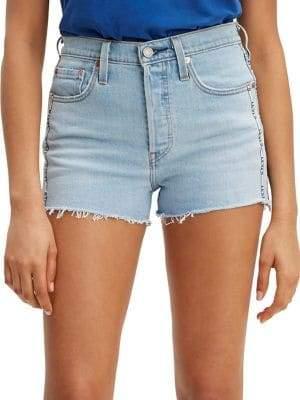 Levi's 501 High-Rise Denim Shorts