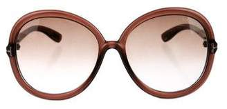 Tom Ford Candice Oversize Sunglasses