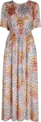 ADAM by Adam Lippes Painted Velvet Jacquard Dress