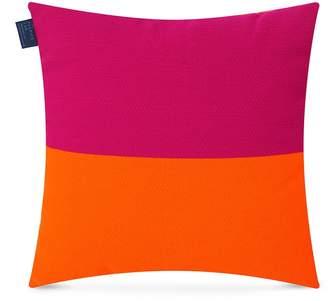 The Fabrick Lab Colourblock cushion - Neon Orange/Neon Fuchsia
