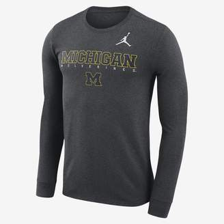 Jordan College Dri-FIT Facility (Michigan) Men's Long Sleeve T-Shirt