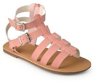 Journee Zoey Girls' Gladiator Sandals $42.99 thestylecure.com