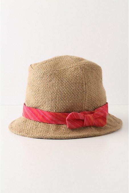 Strawberry Striped Bucket Hat