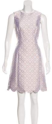 Michael Kors Scalloped Midi Dress