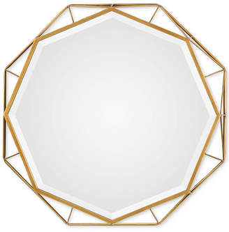 Uttermost Mekhi Antiqued Gold Mirror