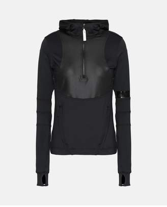 adidas by Stella McCartney Black Running Long Sleeve Shirt