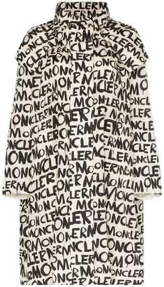 Moncler Amsterdam hooded graffiti jacket