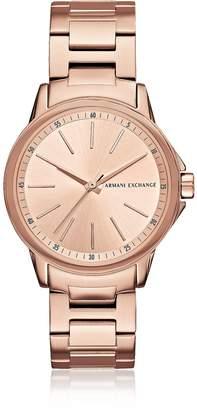 Armani Exchange Lady Banks Rose PVD Women's Watch