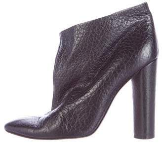 Missoni Embossed Leather Ankle Boots