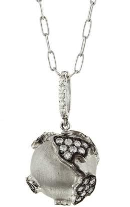 Sharon Khazzam Diamond World Globe Necklace