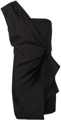 Victoria Victoria Beckham asymmetric mini dress