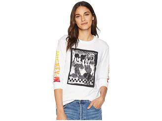 Vans Mickey's 90th Punk Mickey Long Sleeve Boyfriend Tee