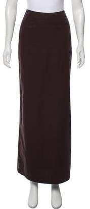 Dries Van Noten Woven Maxi Skirt