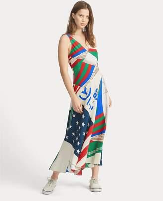 Ralph Lauren CP-93 Silk Dress
