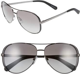 Michael Kors 59mm Aviator Sunglasses