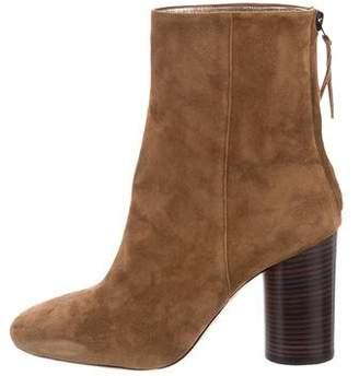 Isabel Marant Garett Round-Toe Ankle Boots