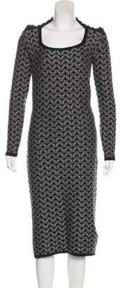 Roland Mouret Knit Midi Dress