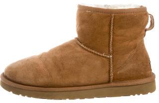 UGG Australia Suede Classic Mini Boots $70 thestylecure.com
