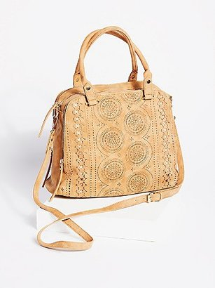Logan Vegan Perforated Tote by Free People $68 thestylecure.com