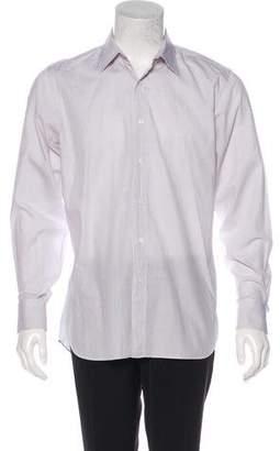 Prada Printed Dress Shirt