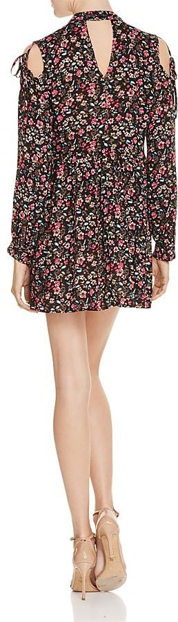 En Créme Floral Cold Shoulder Mini Dress - 100% Exclusive 2